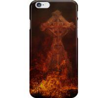 Goth hot line iPhone Case/Skin