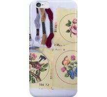 Embroider Me  iPhone Case/Skin