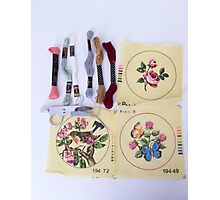 Embroider Me  Photographic Print