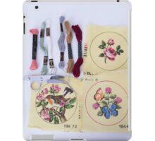 Embroider Me  iPad Case/Skin