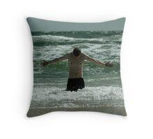 Cast a Storm Throw Pillow