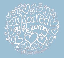 Inspired By The Journey: t-shirt Kids Clothes