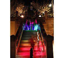 Rainbow Stairwell 2 Photographic Print