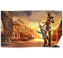 Sheriff Caitlyn - League of Legends Poster