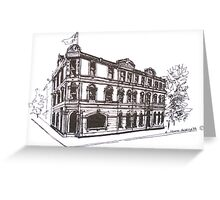 Kensington/Flemington, Melbourne Victoria. Doutta Galla Hotel, Racecourse Rd. Flemington. Greeting Card
