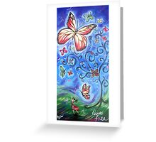 Living Free Greeting Card