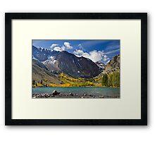 Parker Lake, CA, USA Framed Print