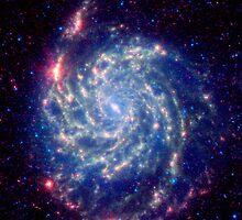 Whirlpool Galaxy by SOIL