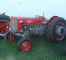 Antique Massey Ferguson 65 by PaulineHoward