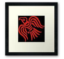 Ravenbanner Framed Print