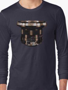 Retro Manual Focus Lens photographer Long Sleeve T-Shirt