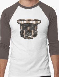 Retro Manual Focus Lens photographer Men's Baseball ¾ T-Shirt