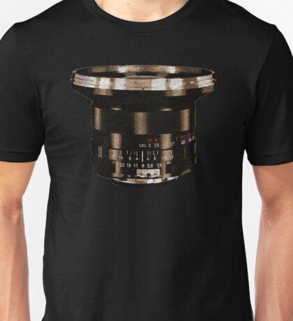 Retro Manual Focus Lens photographer Unisex T-Shirt