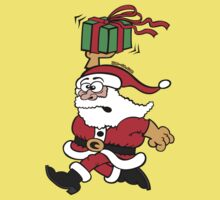 Santa Claus in a Hurry T-Shirt