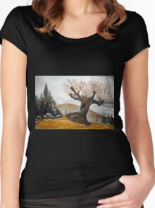 Whomping Willow :) Women's Fitted Scoop T-Shirt