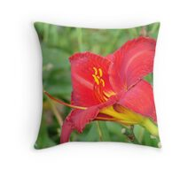 Delicate Lily Throw Pillow