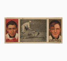 Benjamin K Edwards Collection Arthur Devlin Christopher Mathewson New York Giants baseball card portrait Kids Tee