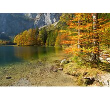 Fall at the Lake Photographic Print