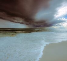 Storm over Indian Ocean by Jill Fisher