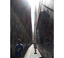 Side Street Photographic Print