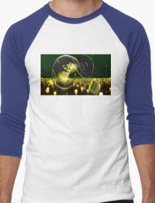 Pokemon Pikachu Lightbulb  Men's Baseball ¾ T-Shirt