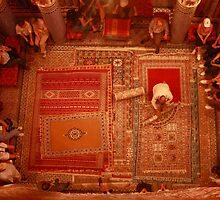 Carpet sellers in Morocco by Haggiswonderdog
