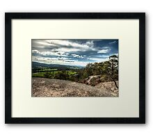 0388 Mt Cannibal View Framed Print