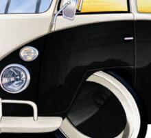 VW Splitty (11 Window) Black Sticker