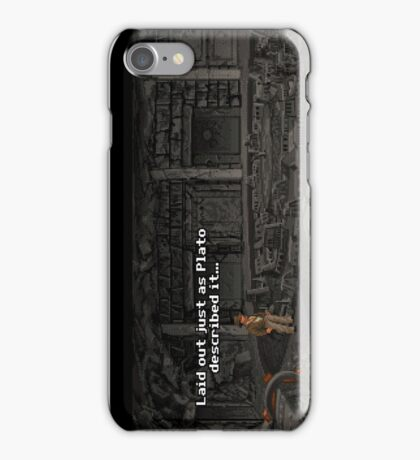 Just As Plato Described It iPhone Case/Skin