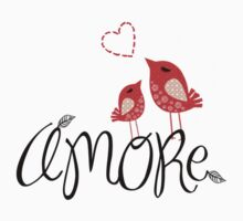 AMORE T-Shirt by Voila and Black Ribbon