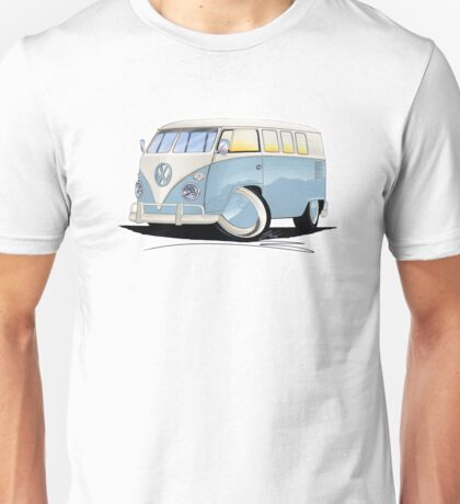 VW Splitty (11 Window) Pale Blue Unisex T-Shirt