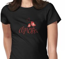AMORE T-Shirt (on a dark background) Womens Fitted T-Shirt