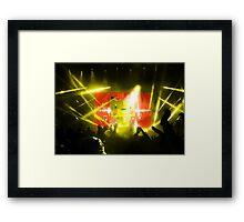 Pika Concert Framed Print