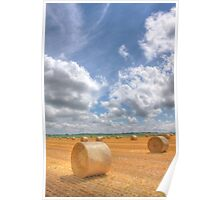 Hay Bales Forever Poster