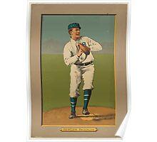 Benjamin K Edwards Collection Bill Bergen Brooklyn Dodgers baseball card portrait Poster