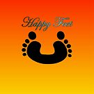 Happy Feet ☺ by ALIANATOR