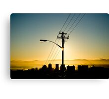 Wired Cape Town 1 Canvas Print