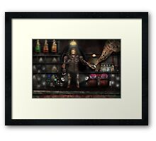 Mad Scientist - The Enforcer Framed Print