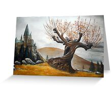 Whomping Willow :) Greeting Card