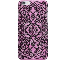 Wrought Pink iPhone Case/Skin