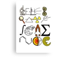 Celebrate Science. Canvas Print