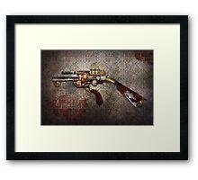 Steampunk - Gun - The sidearm Framed Print
