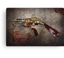 Steampunk - Gun - The sidearm Canvas Print