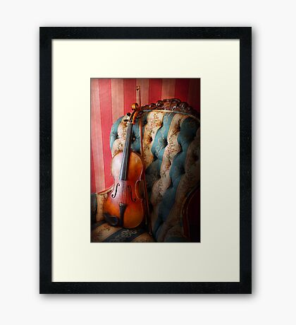 Music - Violin - Musical Elegance  Framed Print