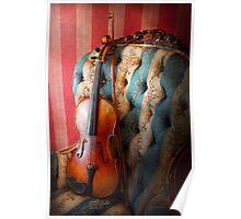 Music - Violin - Musical Elegance  Poster