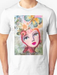 Butterfly girl Unisex T-Shirt