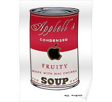 Appell's Mac chunks Street Art by Dashiner Poster