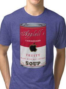 Appell's Mac chunks Street Art by Dashiner  Tri-blend T-Shirt