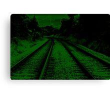 neon track Canvas Print