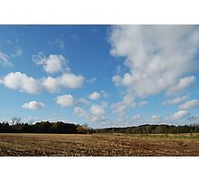 da clouds Photographic Print